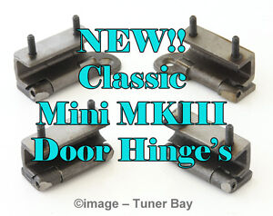 ROVER  MINI SET OF FOUR INTERNAL TYPE DOOR HINGES   Z1624/5/6