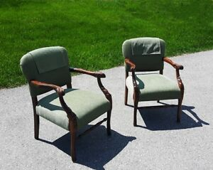 Antique Armchairs $650 or best offer