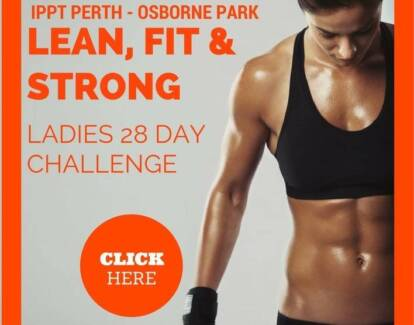 IPPT - Ladies Small Group Training {28 Day Challenge}