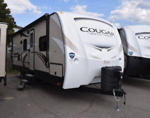 2018 Cougar 1/2 Ton TT - Travel Trailers Lightweight 25BHSWE