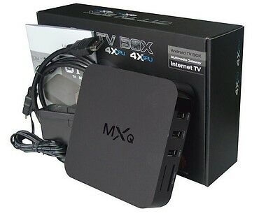 MXQ Amlogic S805 Smart TV BOX Android 4.4 Quad Core WIFI HDMI 3D 1080P 1G+8G