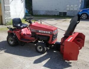 Mint Honda tractor