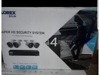CCTV FLIR LOREX LHA41082TC4P SECURITY SYSTEM (8 Ch DVR + 4 x 2K CAMERAS) BRAND NEW