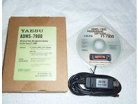 Yaesu ADMS - 7900 software