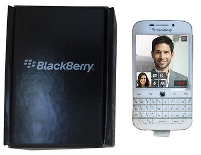 BlackBerry Classic Q20 SQC100-1 Factory Unlocked Smartphone White GSM LTE 16GB