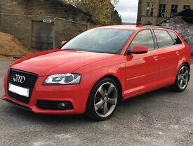 Audi A3 Sportsback - Black Edition - S Line - leathers - Stop/Start **Top Spec**