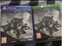 Destiny 2 Xbox one/ps4 £8 each