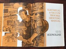 1979 FORD ELECTRICAL VACUUM TROUBLESHOOTING MANUAL ...
