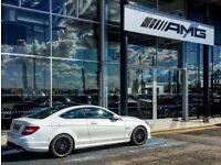 Mercedes C63 AMG Coupe MCT 6.2L V8