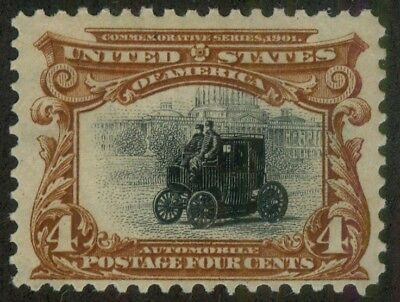 U.S. - 296 - Fine/Very Fine - Never Hinged (catalog value 175.00)