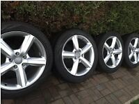 Audi Q7 S line 4 wheels and tyres