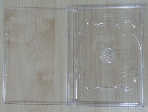 4 ORIGINAL SUPER JEWEL BOX KING SINGLE DVD CASE CLEAR O-SF11