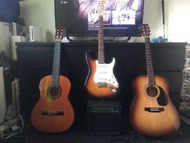 Guitar x3