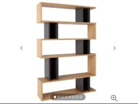 Content by Terence Conran Counterbalance Tall Shelving, Bookcase, Oak/black