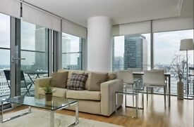 URGENT!!! TWO BEDROOM FLAT TO RENT IN CANARY WHARF - CALL NOW TO ARRANGE VIEWINGS