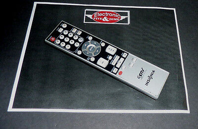 Insignia Lcd Tv Dvd Combo (INSIGNIA LCD TV/DVD COMBO REMOTE CONTROL NF016UD  )