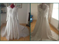 Stunning Classic White Wedding Dress (Open to offers) £600.00