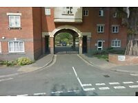 Central & secure allocated car parking space in gated development. 4 mins from station