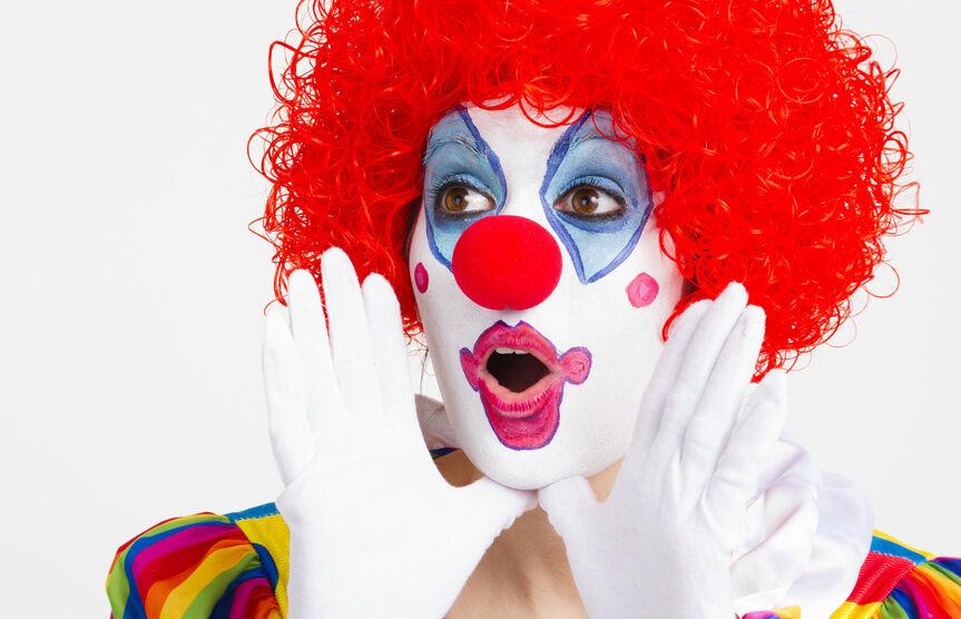 die 3 beliebtesten zirkus clowns und ihre kost me ebay. Black Bedroom Furniture Sets. Home Design Ideas