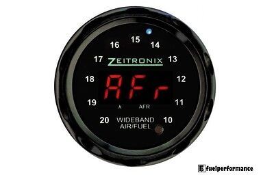 Zeitronix Wideband Zt-3 + ZR-1 AFR and Lambda Gauge Display Bundle (RED / BLACK)