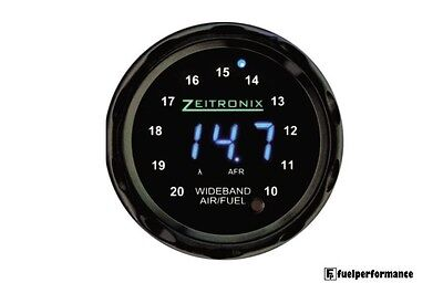 Zeitronix Wideband Zt-3 + ZR-1 AFR and Lambda Gauge Display Bundle (BLUE/BLACK)
