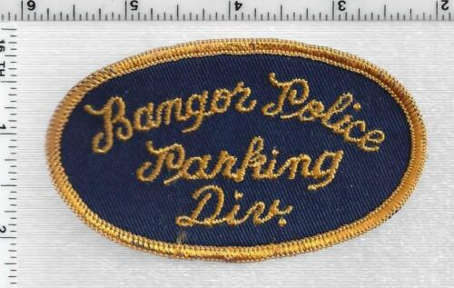 Bangor Police Parking Division (Maine) 1st Issue Shoulder Patch
