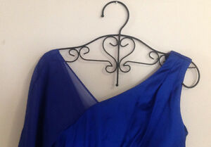 BRAND NEW Sapphire Blue Ruched Rhiestone Formal Dress Kitchener / Waterloo Kitchener Area image 5
