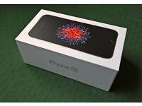 BRAND NEW APPLE IPHONE SE SPACE GREY (LATEST MODEL) 16GB ON VODAFONE