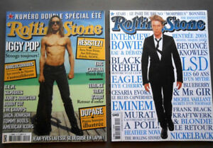 2 Rolling Stone - France 2003 - David Bowie, Iggy Pop