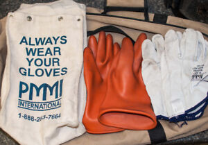 Electrical PPE, gloves, meter, tools etc.