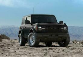 image for 2021 Ford Bronco Base Petrol black Manual