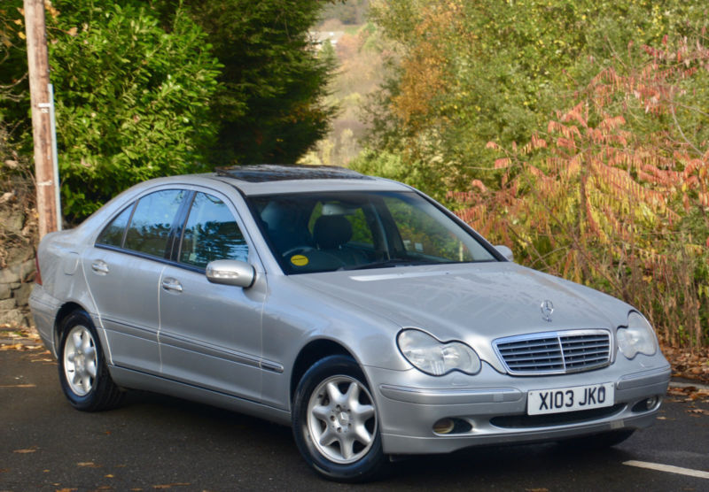 Mercedes Benz C200 Kompressor 2 0 Auto 2001my Elegance Silver In