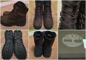 BNIB Timberland Waterproof Leather Boots (Men's 9/Women's 11)