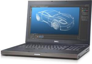 DELL PRECISION M4800 LAPTOPS, INTEL i7-4800MQ, nVIDIA K1100M, 16GB RAM, 500GB HDD, SOLIDWORKS 2018, AUTOCAD 2018, REVIT