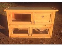 Double rabbit, small animal hutch