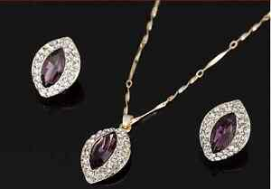 **NEW** 18K Gold Plated - Necklace Earrings set