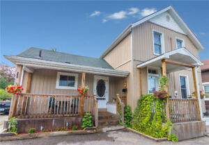 House for sale overlooking Welland Canal