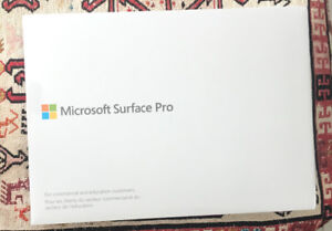 Microsoft Surface Pro, Intel Core i7, 8GB RAM, 256GB