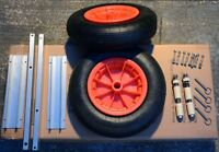 16 inch Aluminum Launching Wheels for boat