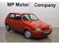 1995 ROVER 100 1.4 114 SLI 5D 74 BHP 5DR HATCH, GENUINE 39-000 MILES, RED,