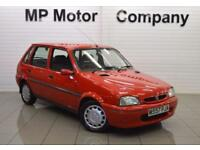 1995 ROVER 100 1.4 114 SLI 5D 74 BHP 5DR HATCH, GENUINE 39-000 MILES, RED,