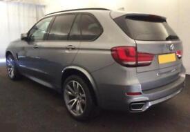 2014 GREY BMW X5 3.0 XDRIVE30D M SPORT 7 SEAT DIESEL 4X4 CAR FINANCE FR £117 PW