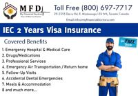 Most Reliable IEC 2Years Visa Insurance Canada