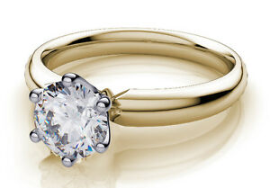 0.50 CT DIAMOND SOLITAIRE RING @ KARAT FINE JEWELLERY