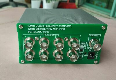 10mhz Distribution Amplifier10mhz Ocxo Frequency Standard8 Port Output
