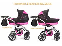 Pushchair 3w1 Travel System in very good condition used four months