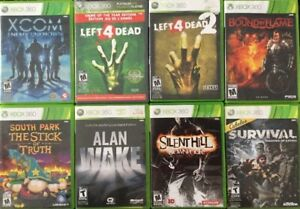 Alan Wake, South Park, Silent Hill, Manettes, piles..