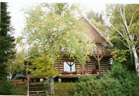 Lac Pemichangan Log Home