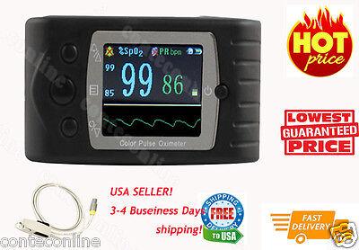 Tft Finger Pulse Oximeter Spo2 Monitorcms60cusbfree Advanced Analysis Sw