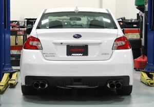 PERRIN CAT-BACK EXHAUST NON-RESONATED SYSTEM WRX/STI 2011-17